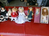 China dolls. Prices between $10 and $20 Bowmanville, L1C 2H3
