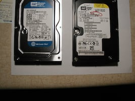 160GB Internal SATA HD