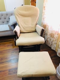 Glider and ottoman chair