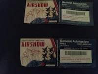 2 adult tickets to the abbotsford international ai Surrey