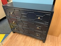 New Blue Accent Cabinet