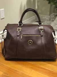 Genuine luxury and durable cow leather duffle bag ((Brand New)) Richmond Hill