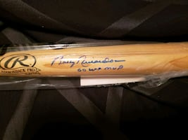Bobby Richardson signed bat