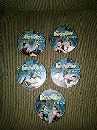 Honeymooners Classic 39 DVDs Freehold, 07728