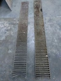 2 steel drain grates  Cleveland, 44130