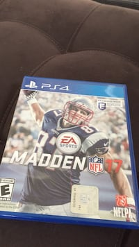 Madden NFL 17 PS4 game case New Orleans, 70115