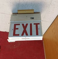 Illuminated EXIT Sign Del City, 73115