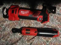 red and black Milwaukee cordless power drill Silver Spring, 20904