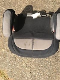 Black and gray booster seat Gaithersburg