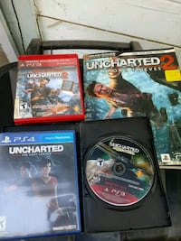 Ps3 ps4 uncharted Bakersfield, 93306