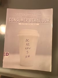 Consumer Behaviour, Buying, Having Being - Solomon, White Dahl 6th Ed 3750 km