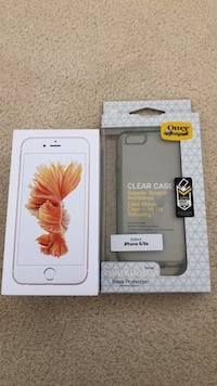 iPhone 6s Rose Gold 64GB + New Slim Clear Otterbox Markham, L6C 2E4