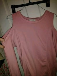 pink scoop-neck sleeveless top York, 17404