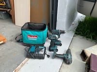 Makita 18v cordless set with jigsaw and multi tool West Palm Beach, 33405