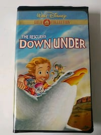 The Rescuers Down Under Gold Collection vhs tape Baltimore