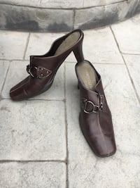 pair of brown leather shoes Modesto, 95355