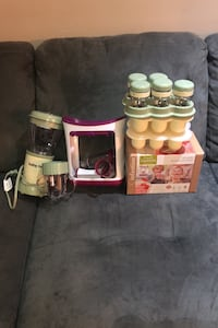 Baby bullet and baby food on the go