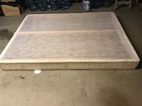 Queen bed spring box