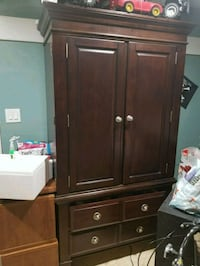 brown wooden cabinet with drawer Springfield, 22151