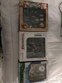 Figmas Action Figures. Link, Solid Snake and Black and White Woody Parkville, 21234