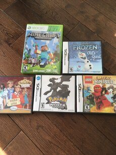 Assorted console games