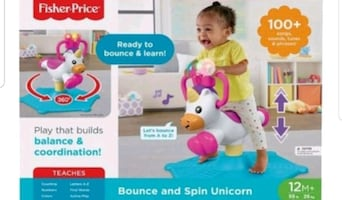 Brand new Bounce and play unicorn