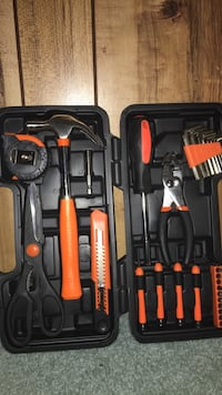 Black and red tool set Parkville, 21234