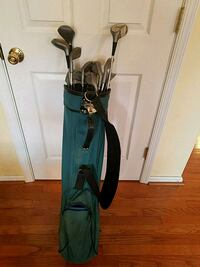 Vintage Golf Clubs and Bag Quakertown, 18951