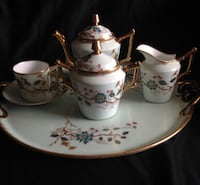 Antique French coffee set hand painted  Arlington, 22204
