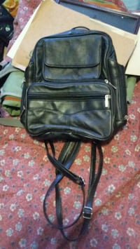 black leather backpack Ottawa, K1Z 8E6