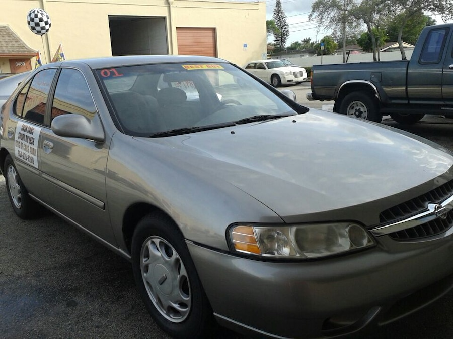 Fort Lauderdale Nissan >> Used 01 Altima GXE in Fort Lauderdale