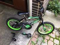 black and green BMX bike Highwood, 60040