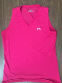 pink Under Armour tank top.Woman's large like new $10 Surrey