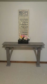 Grey console table, sofa/entry/hallway table Kitchener