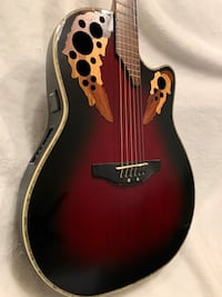 Ovation Pinnacle Deluxe Acoustic Electric guitar Manassas, 20110
