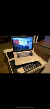 "Macbook pro i7 15"" excellent working condition with brand new charger   Its in excellent working condition super fast  Comes with new charger  Its big screen 15"" speakers on both sides  It is El Capitan OS system Read Less Modesto, 95350"