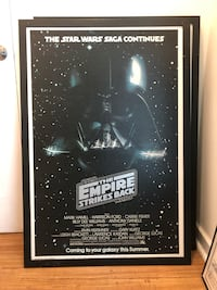 STAR WAR: EMPIRE STRIKES BACK FRAMED POSTER