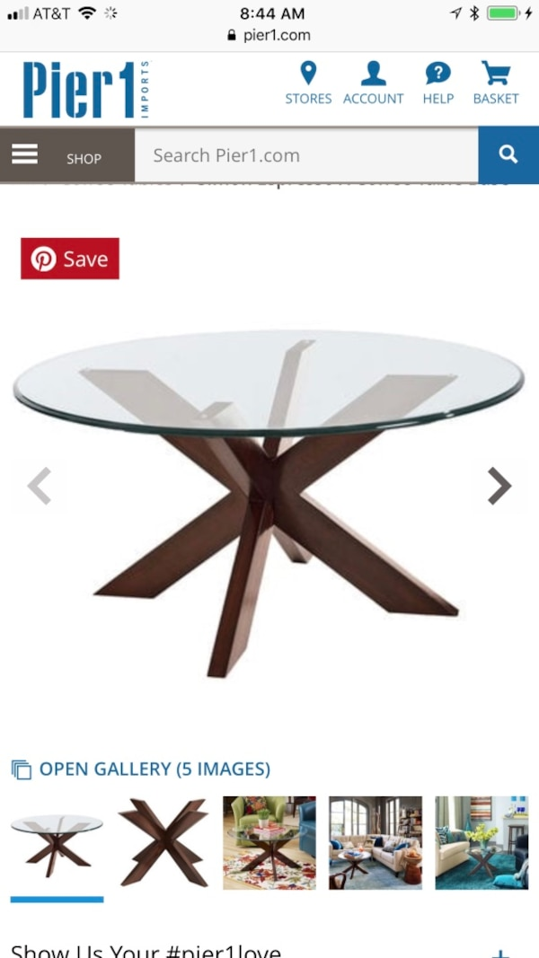 Amazing Pier 1 Coffee Table Base With 36 Inch Round Glass Top Pdpeps Interior Chair Design Pdpepsorg