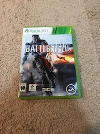 Xbox 360 battlefield 4 game and case Bristow, 20136