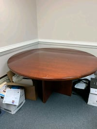 Solid wood conference table Alexandria