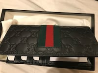 black and green floral leather wallet Burbank, 91502