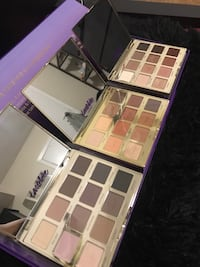 Eyeshadow palette trio set Mississauga, L5M