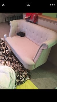 Beige small sofa. Selling for $75