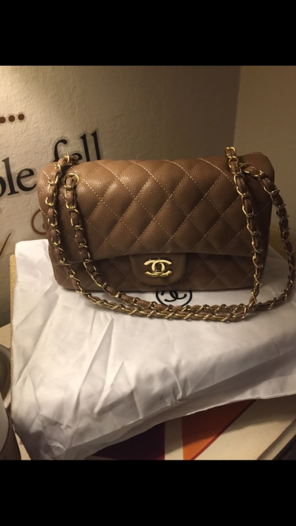 94783a6e646d Used quilted brown Chanel leather crossbody bag for sale in Redwood ...