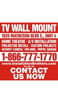 Professional Audio/Video Installation Mississauga