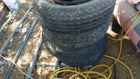 8-14.5 mobile home tires and rims all 4 Kingman, 86409