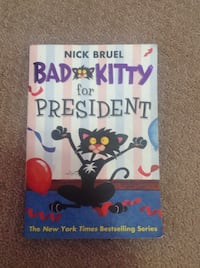 Bad kitty for president novel