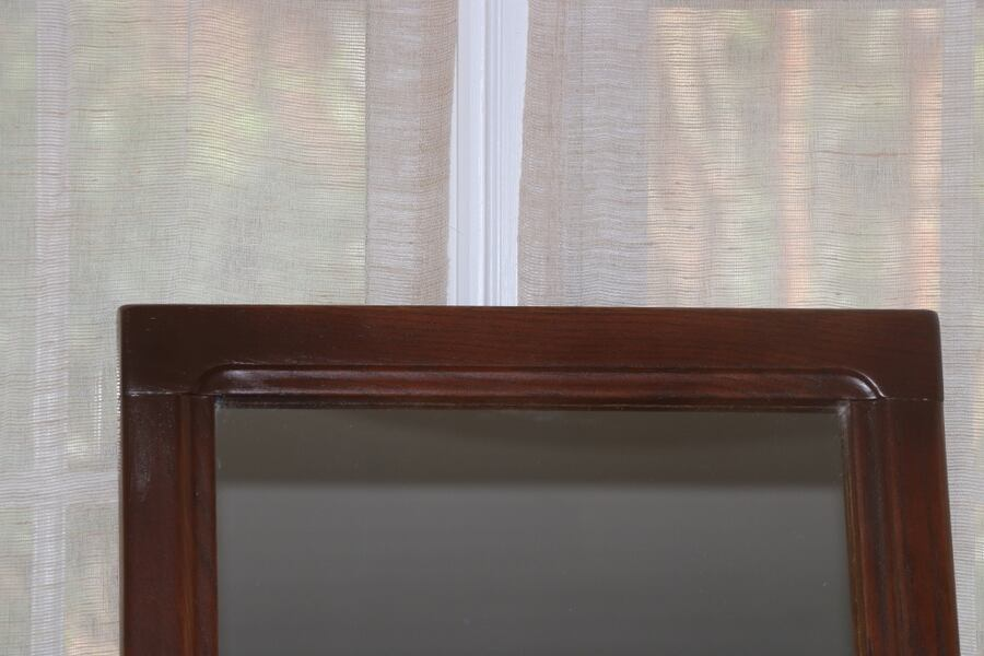 Vintage Mirror. Tall Wall Hanging. Refinished 80fbca9c-6714-476d-bcdd-83a8a209af62