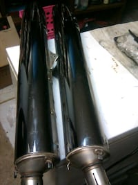 Honda 1800 mufflers excellent condition
