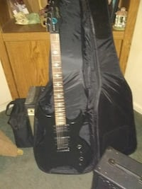 Stagg Custom electric guitar/with soft case and Pe South River, 08882